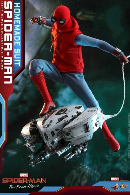 *Pre Order* Hot Toys 1:6 Marvel Spider-Man Far From Home (Homemade Suit) Spider-Man